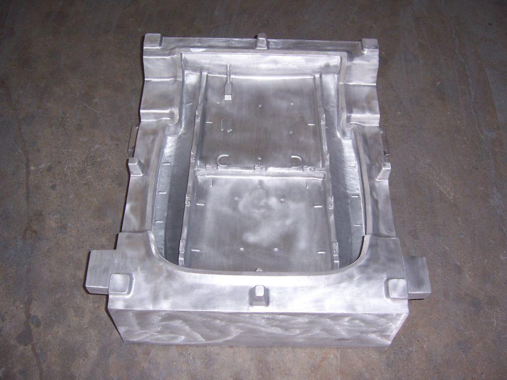 Molde para espumado de aluminio