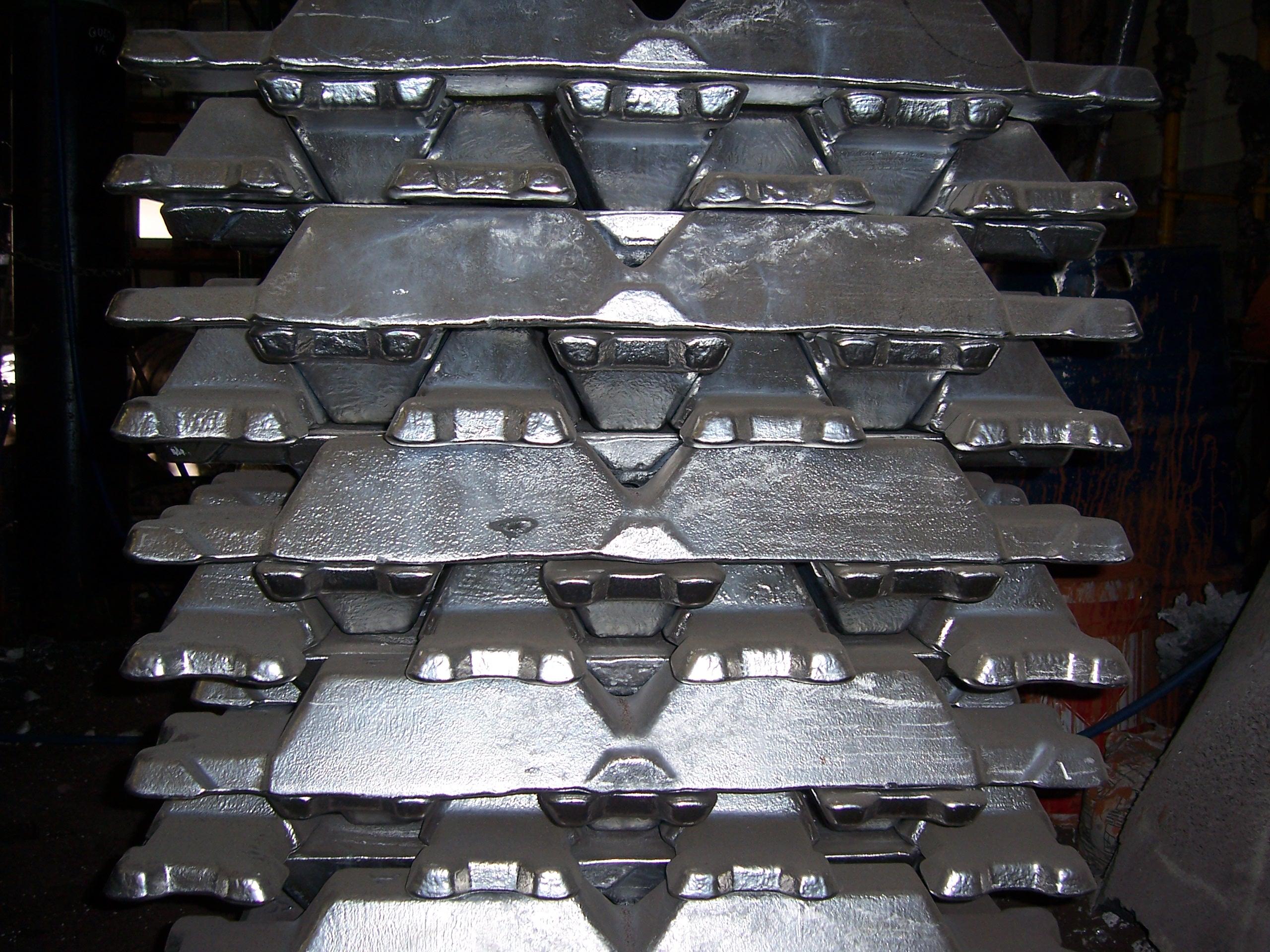 Lingotes aluminio