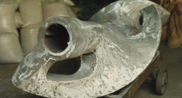 Hélice de fundición de aluminio