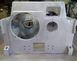 Machinery aluminium casting piece