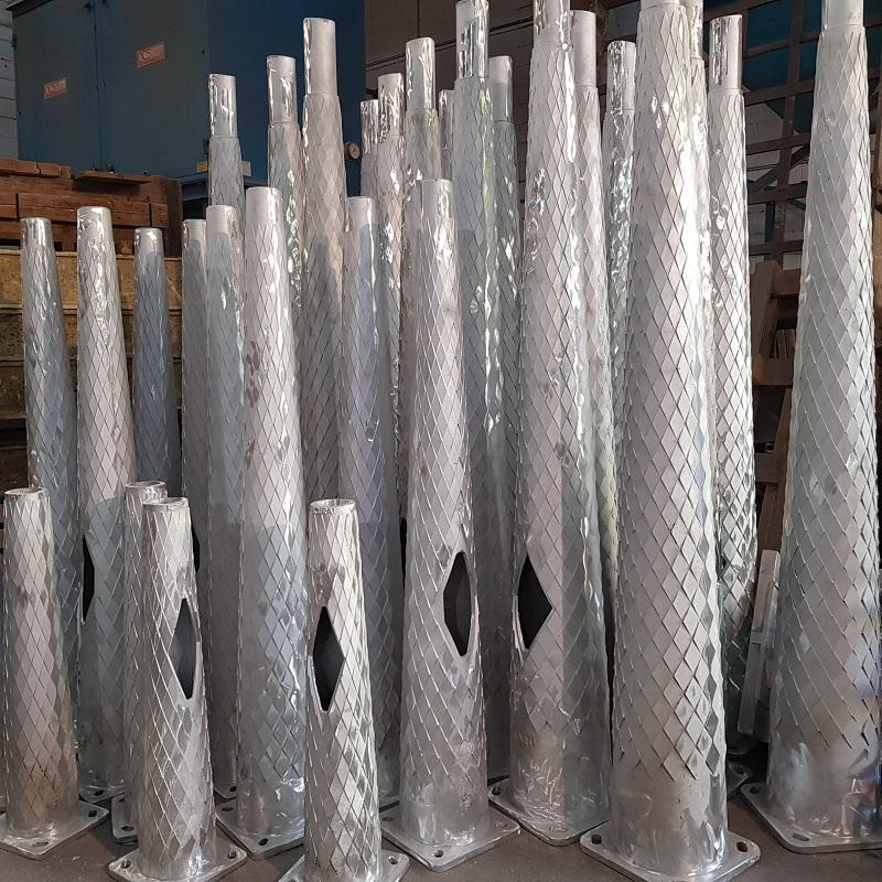 Luminarias de aluminio