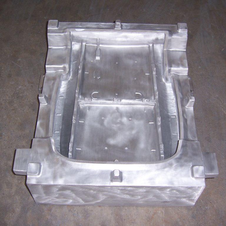Molde aluminio pulido